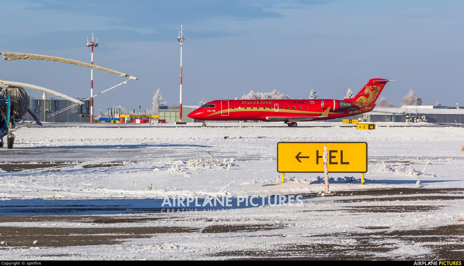 Rusline VQ-BNA aircraft at Belgorod Intl