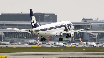 SP-LIO - LOT - Polish Airlines Embraer ERJ-175 (170-200)