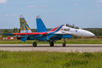 "23 - Russia - Air Force ""Russian Knights"" Sukhoi Su-27UB"