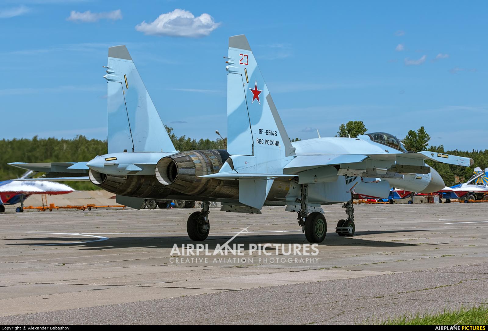 Russia - Air Force RF-95148 aircraft at Kubinka