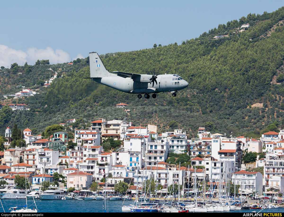 Greece - Hellenic Air Force 4121 aircraft at Skiathos