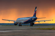 VQ-BEE - Aeroflot Airbus A321 aircraft