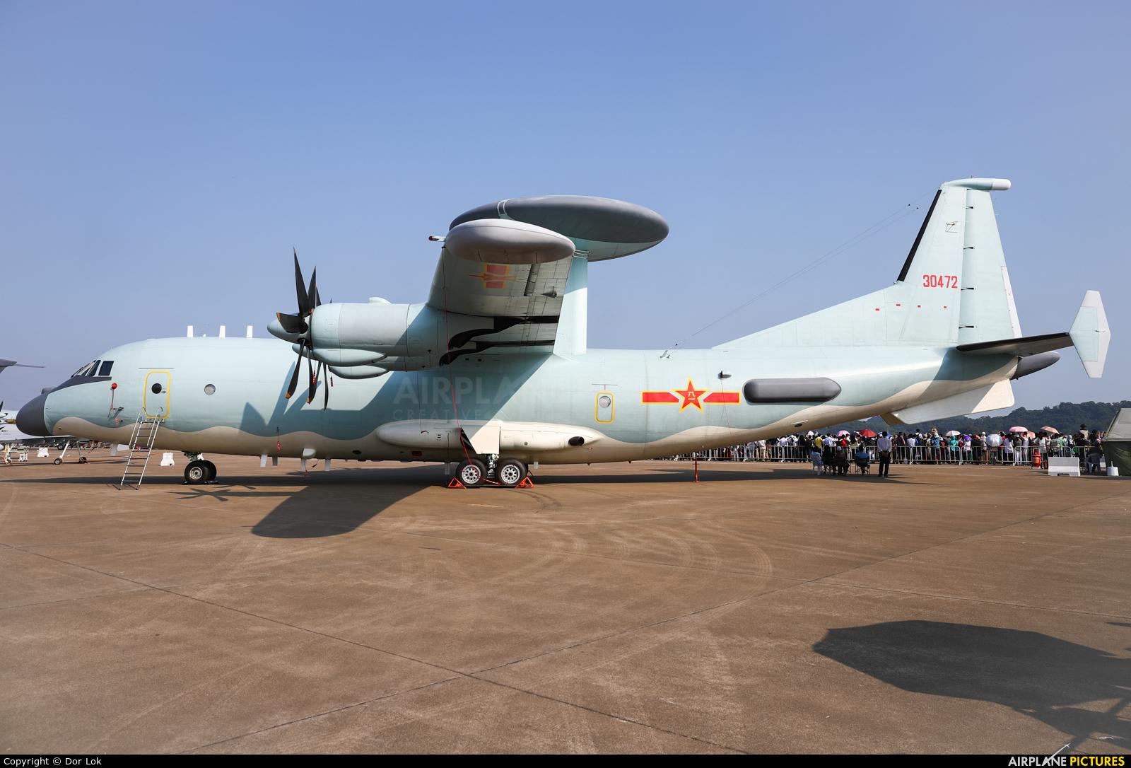 China - Air Force 30472 aircraft at Zhūhǎi-Jīnwān