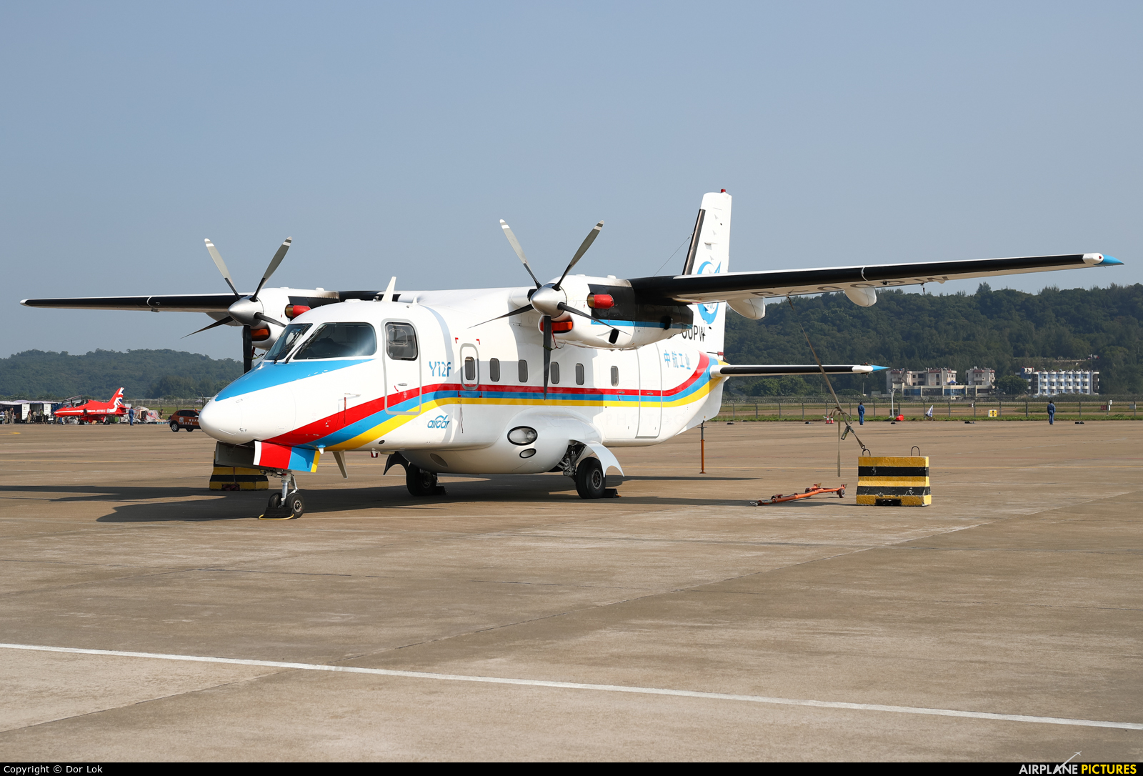 AVIC - China Aviation B-00PW aircraft at Zhūhǎi-Jīnwān