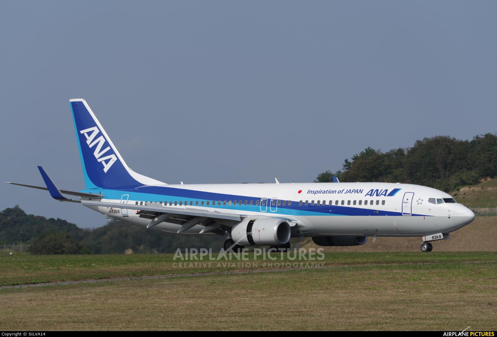 ANA - All Nippon Airways JA83AN aircraft at Iwami