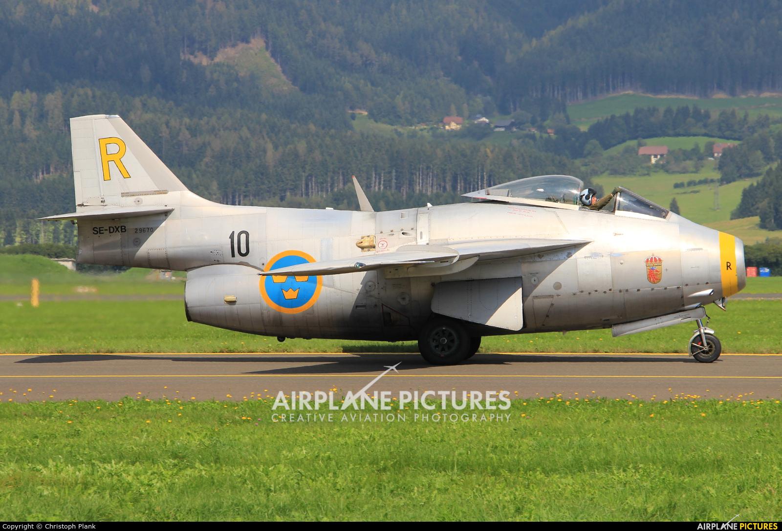 Swedish Air Force Historic Flight SE-DXB aircraft at Zeltweg