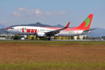HL8268 - T'Way Air Boeing 737-800