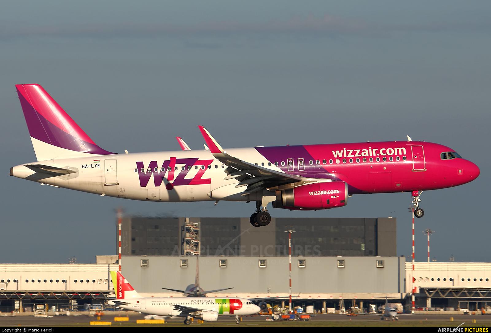 Wizz Air HA-LYE aircraft at Milan - Malpensa