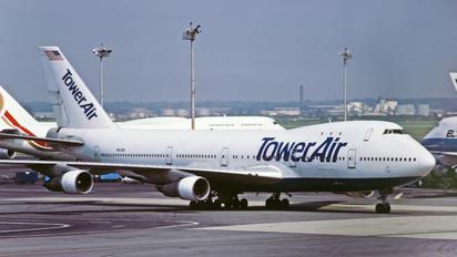N601BN - Tower Air Boeing 747-100