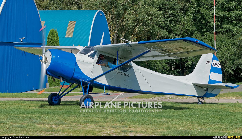 Aeroklub Warmińsko-Mazurski SP-ABC aircraft at Olsztyn-Dajtki