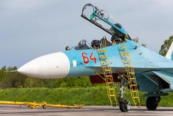 64 RED - Russia - Navy Sukhoi Su-27UB