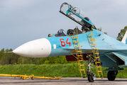 64 RED - Russia - Navy Sukhoi Su-27UB aircraft
