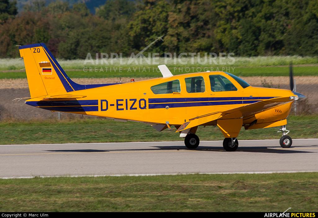Private D-EIZQ aircraft at Augsburg