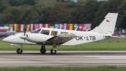 OK-LTB - Aeroklub Praha Letnany Piper PA-34 Seneca
