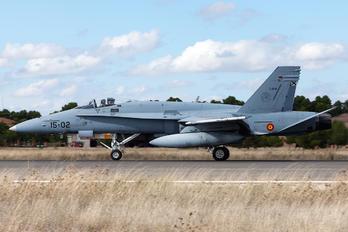 C.15-15 - Spain - Air Force McDonnell Douglas EF-18A Hornet