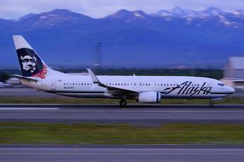 N538AS - Alaska Airlines Boeing 737-800