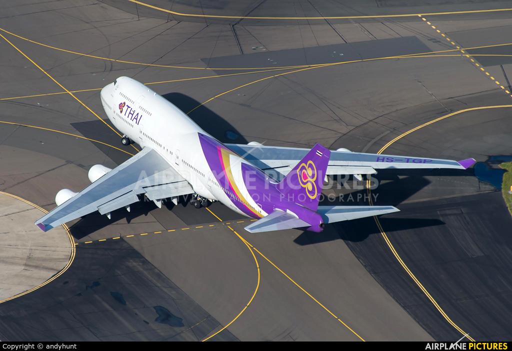 Thai Airways HS-TGP aircraft at Sydney - Kingsford Smith Intl, NSW