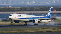 JA754A - ANA - All Nippon Airways Boeing 777-300 aircraft