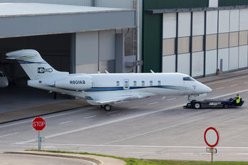 N801KB - Private Bombardier BD-100 Challenger 350 series