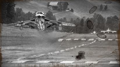 HB-RVP - Fliegermuseum Altenrhein Hawker Hunter T.68