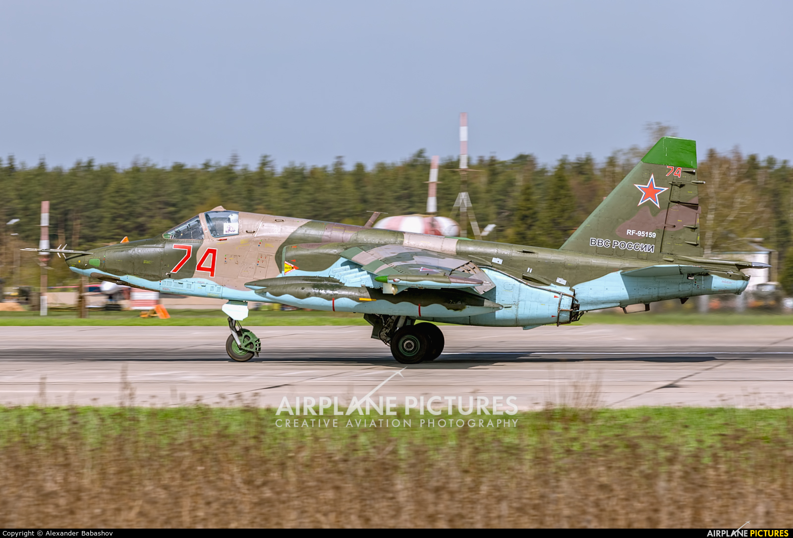 Russia - Air Force Sukhoi Su-25 RF-95159