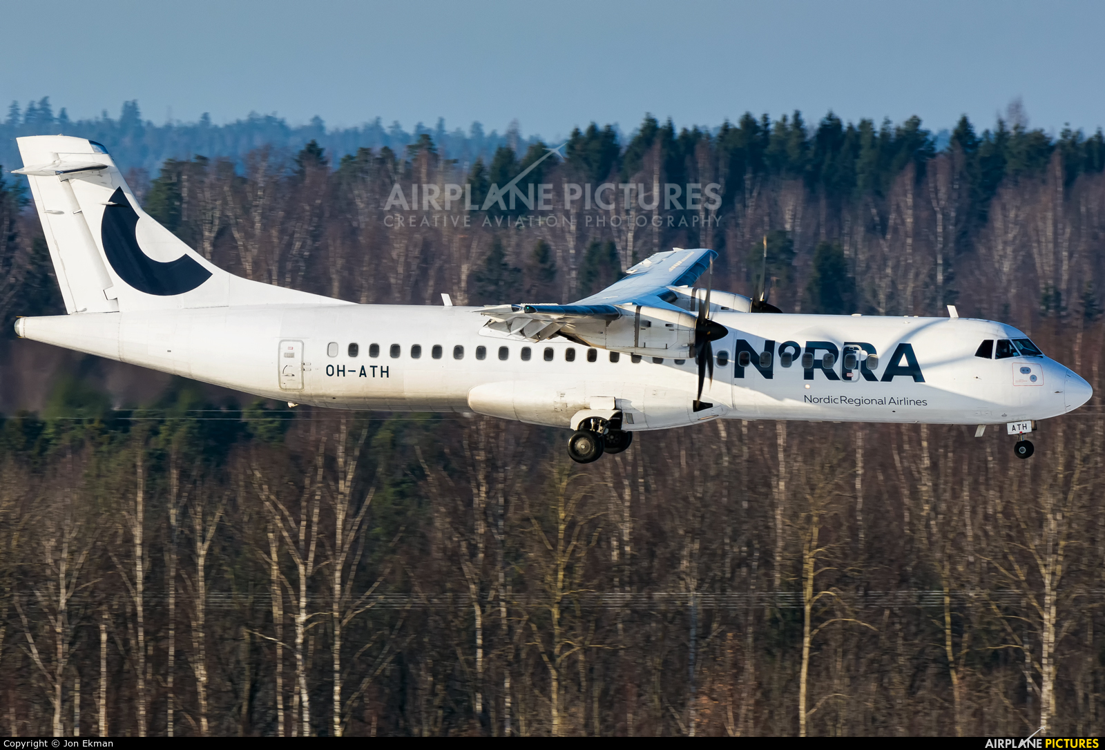 NoRRA - Nordic Regional Airlines OH-ATH aircraft at Helsinki - Vantaa