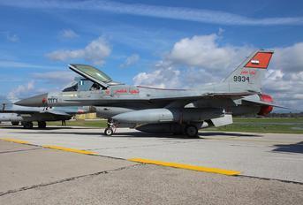 9934 - Egypt - Air Force General Dynamics F-16CG Night Falcon
