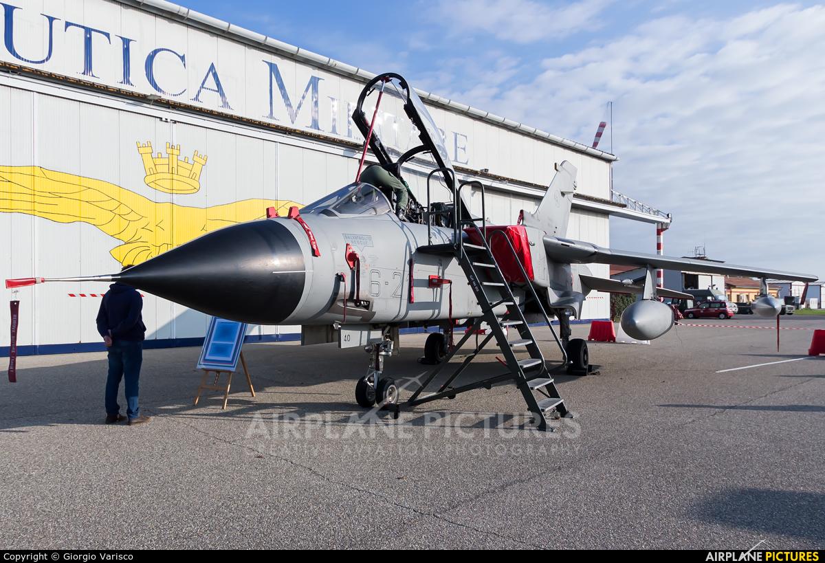 Italy - Air Force MM7040 aircraft at Milan - Linate