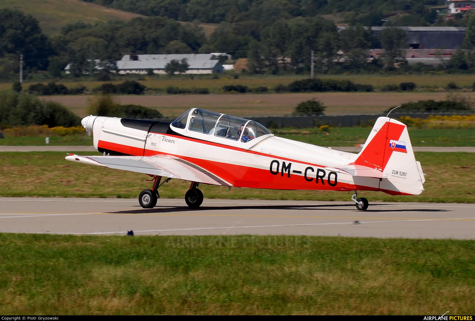 Slovensky Narodny Aeroklub OM-CRO aircraft at Sliač