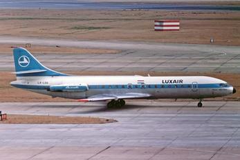 LX-LGG - Luxair Sud Aviation SE-210 Caravelle