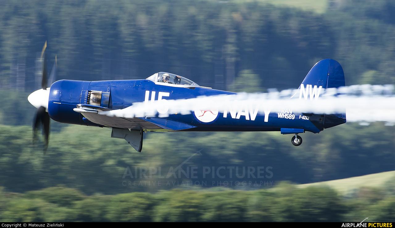 Private F-AZXJ aircraft at Zeltweg