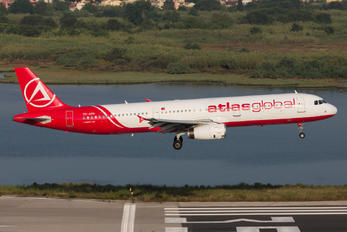 TC-ATH - Atlasglobal Airbus A321