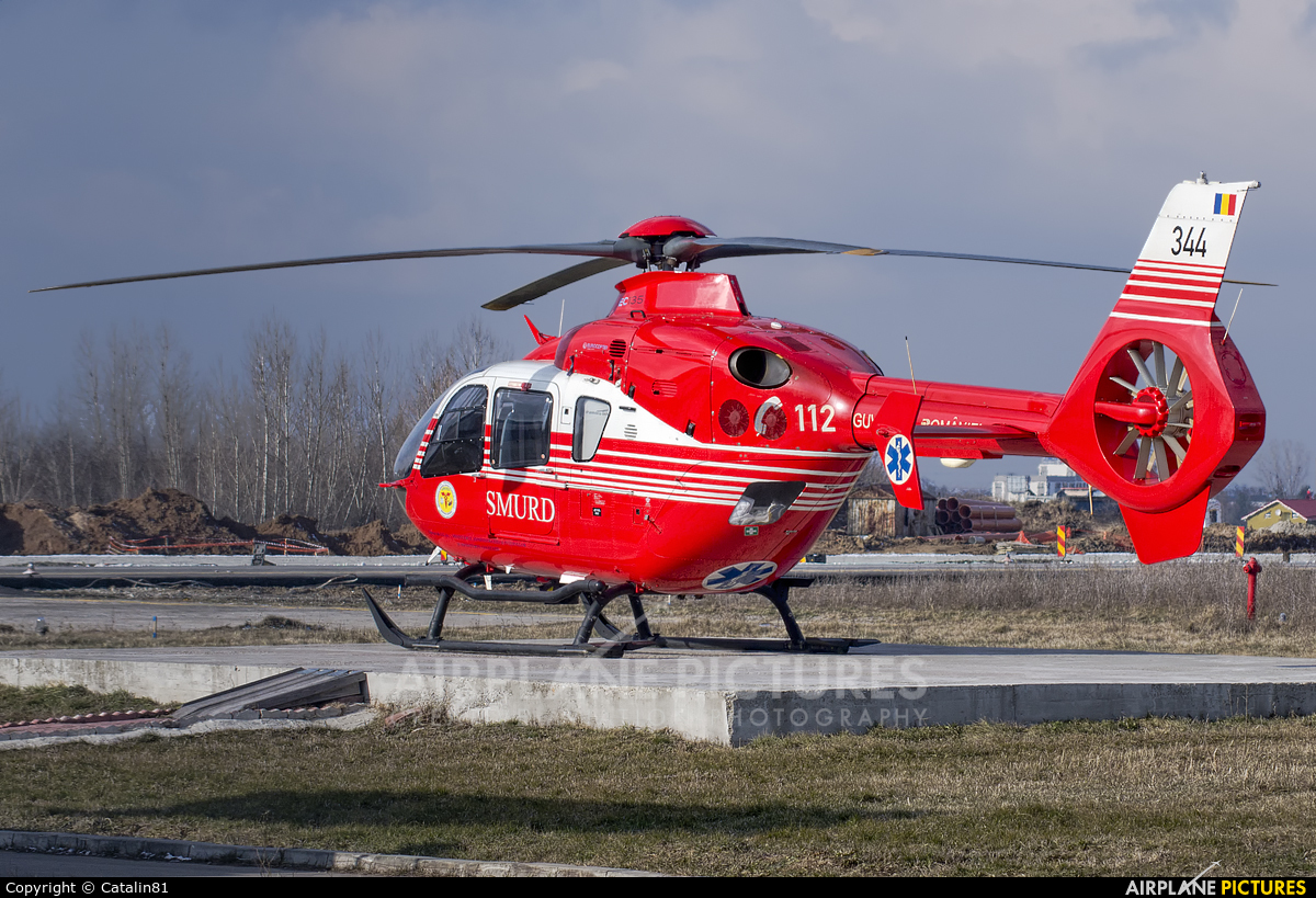 Romanian Emergency Rescue Service 344 aircraft at Craiova