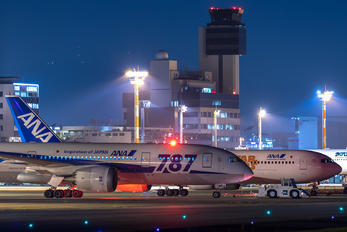 JA816A - ANA - All Nippon Airways - Airport Overview - Apron