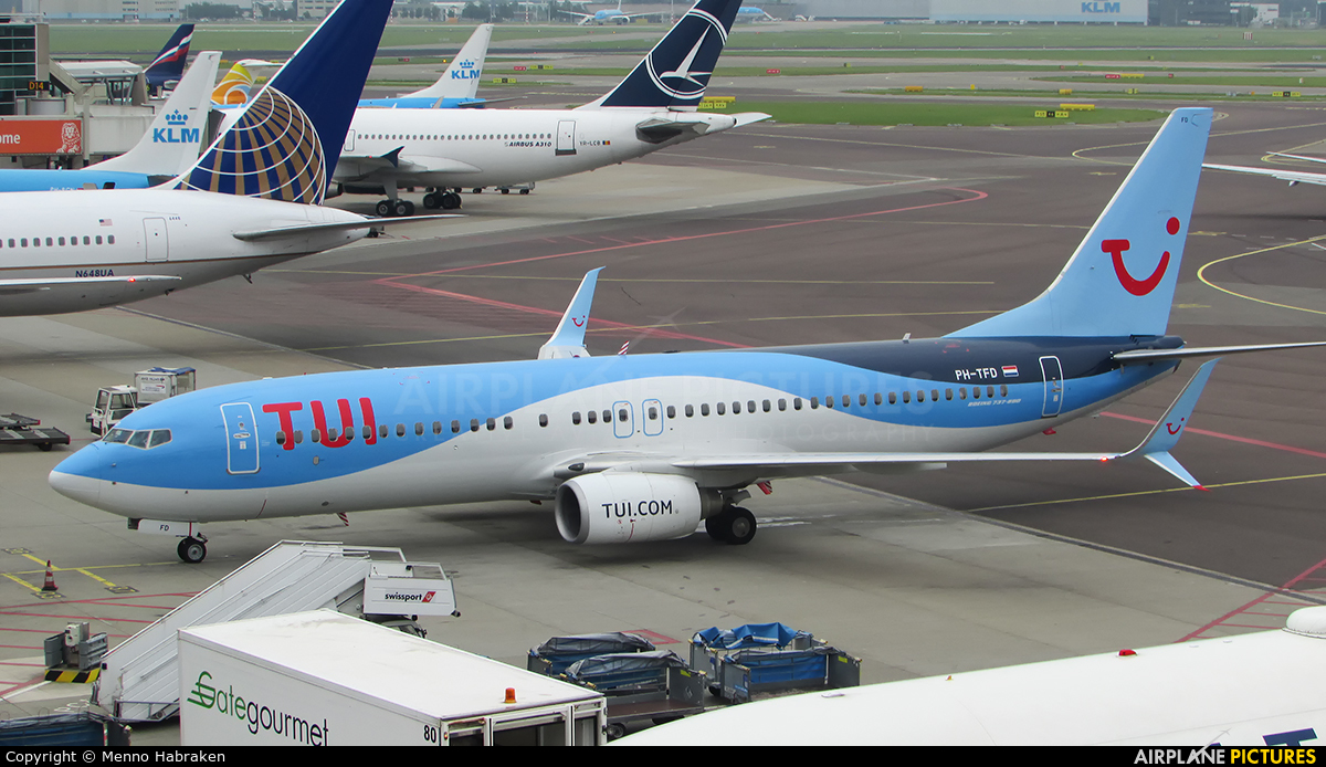TUI Airlines Netherlands PH-TFD aircraft at Amsterdam - Schiphol