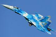 58 - Ukraine - Air Force Sukhoi Su-27UB aircraft