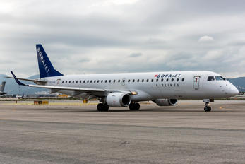 TC-YAU - Bora Jet Airlines Embraer ERJ-195 (190-200)