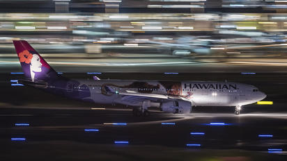 N392HA - Hawaiian Airlines Airbus A330-200