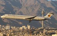 EP-CPU - Caspian Airlines McDonnell Douglas MD-83 aircraft