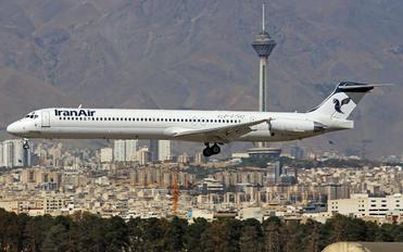 UR-BXM - Iran Air McDonnell Douglas MD-82