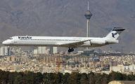 UR-BXM - Iran Air McDonnell Douglas MD-82 aircraft