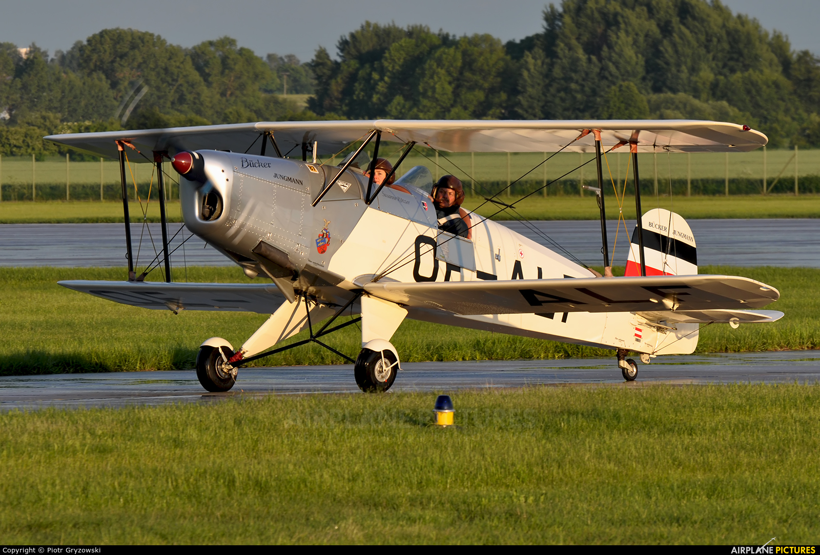 Private OE-ALF aircraft at Pardubice
