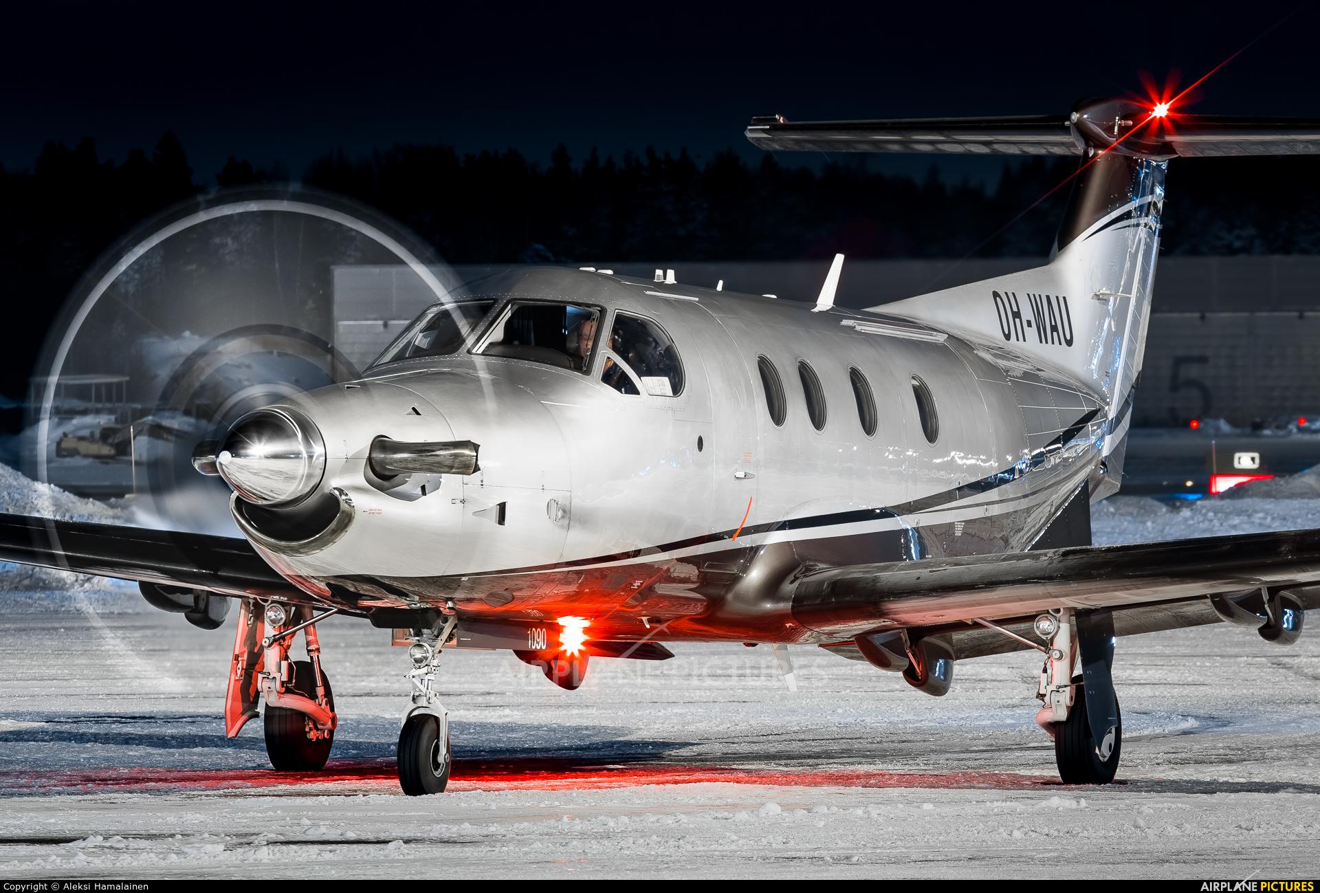 Private OH-WAU aircraft at Helsinki - Vantaa