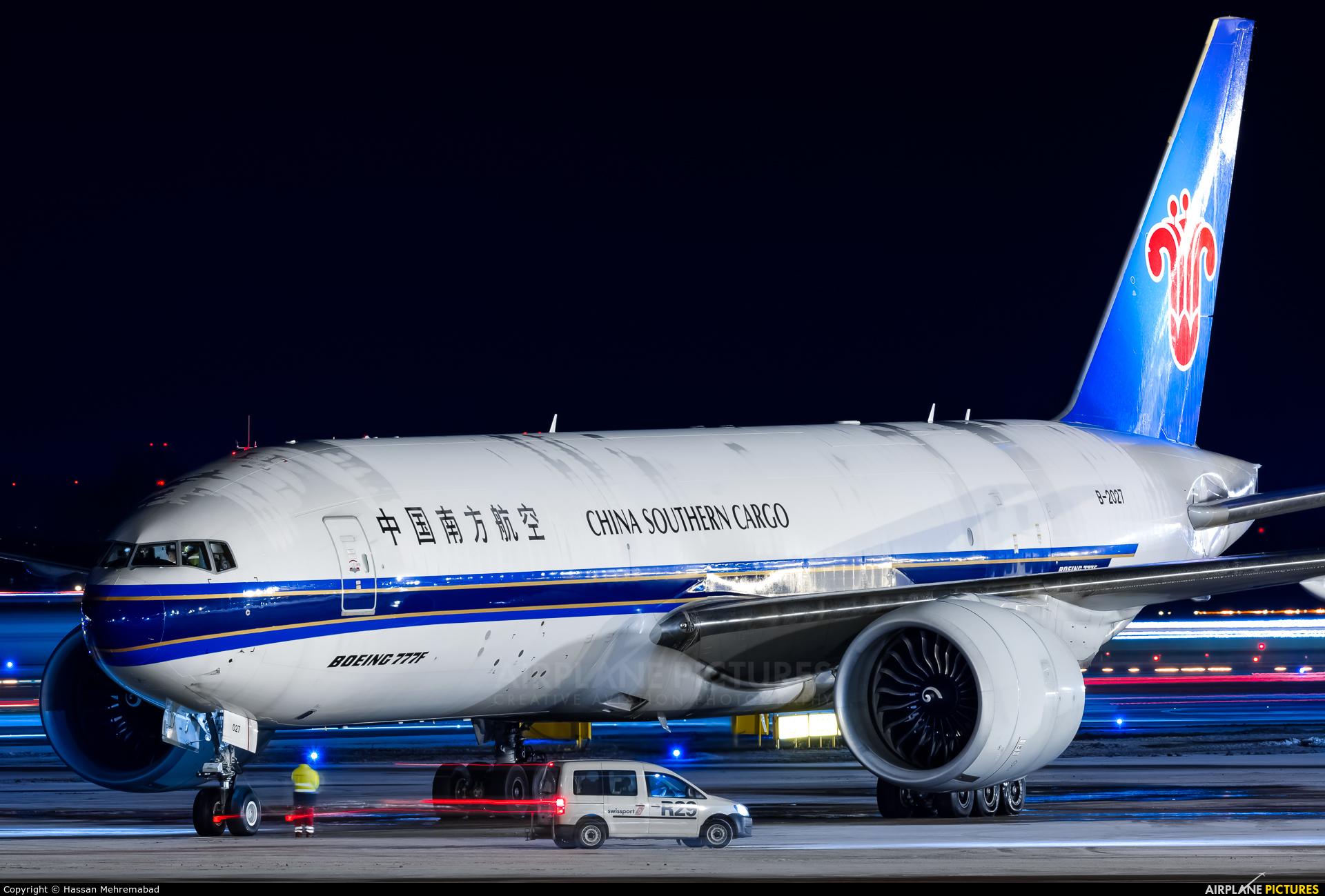 China Southern Cargo B-2027 aircraft at Helsinki - Vantaa
