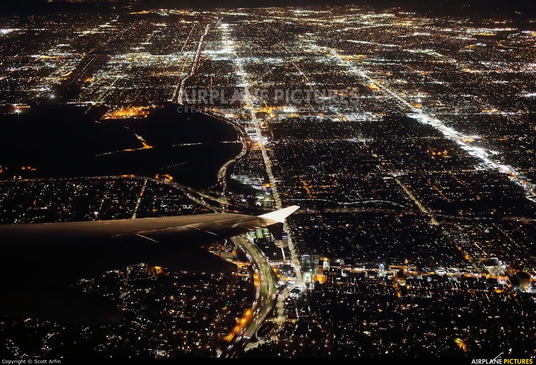 JetBlue Airways N585JB aircraft at In Flight - California