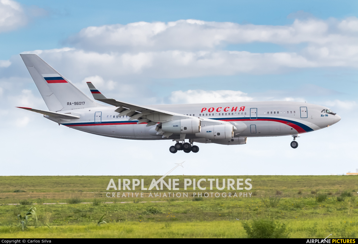 Rossiya RA-96017 aircraft at Lisbon