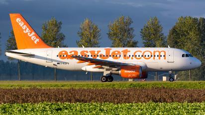 G-EZFV - easyJet Airbus A319