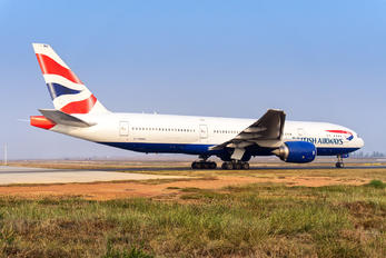 G-YMMG - British Airways Boeing 777-200