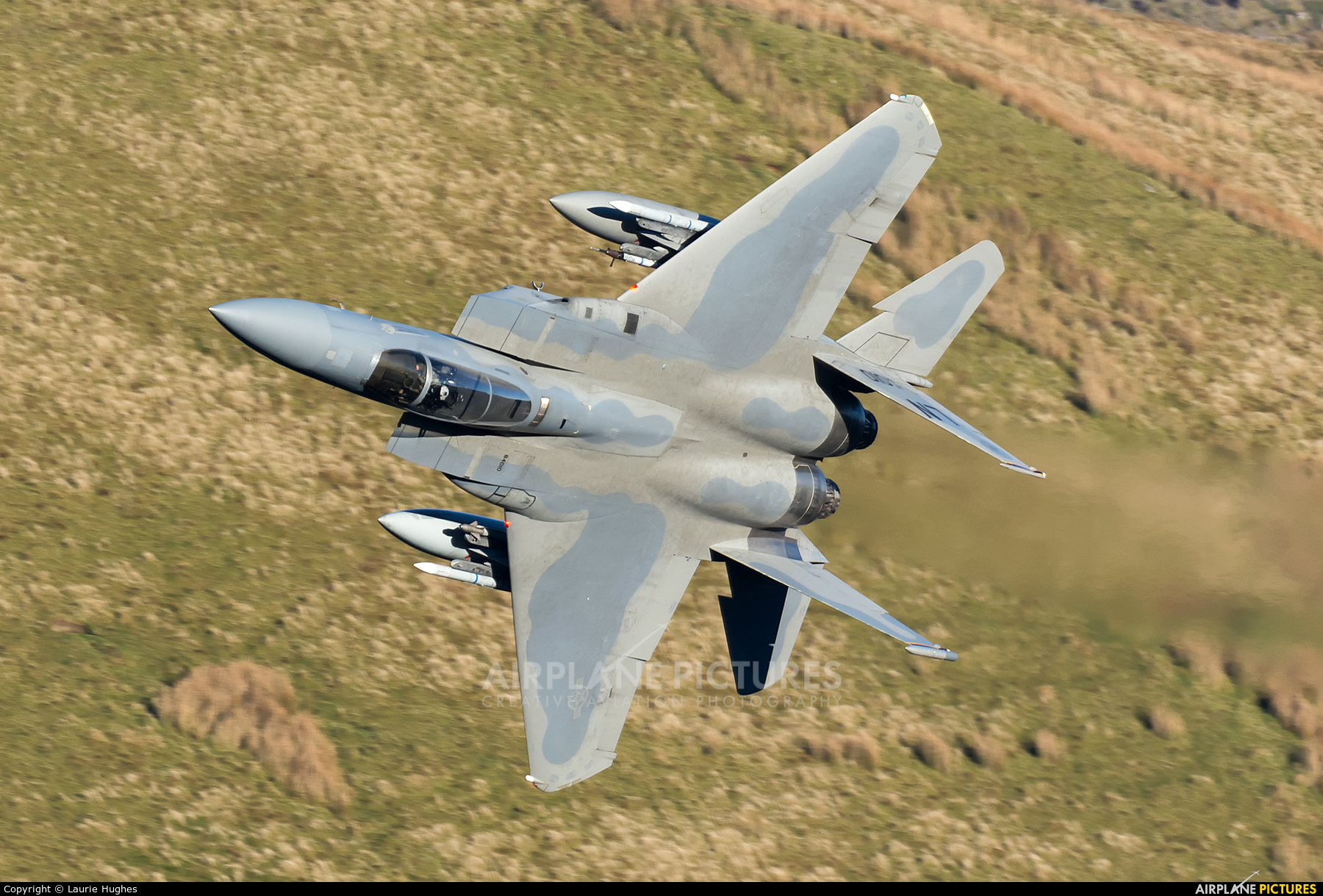 USA - Air Force 86-0010 aircraft at Machynlleth Loop - LFA 7