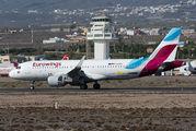 D-AEWG - Eurowings Airbus A320 aircraft